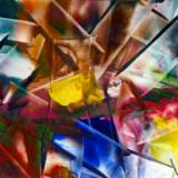 FRACTURED STAIN GLASS